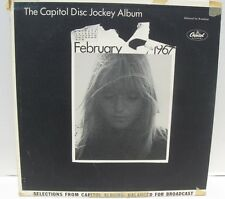 The Capitol Disc Jockey Album Feburary 1967 promo NM vinyl lp