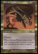 MTG SHIVAN WURM - WURM DI SHIV - PLS - MAGIC