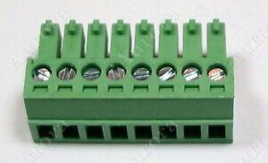 8 Pin - 3.5mm /  Pluggable Screw Connector - Terminal Block - Phoenix Plug
