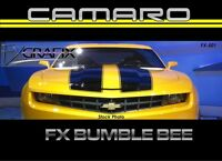 2010 - 2013 Chevrolet Camaro Transformer Style Bumble Bee Rally Racing Stripe