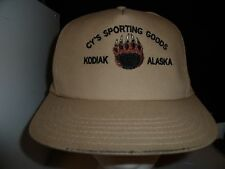 Baseball Cap CY'S SPORTING GOODS ALASKA Trucker Hat Unique RETRO Rare Cool Old