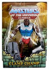 Clamp Champ Exclusive Masters Of the Universe Classics HE-MAN MOC NUOVO OVP motu