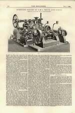 1895 Motor De Dirección De HMS Venus y Diana arco Maclachlan