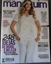 MANEQUIM  BRAZILIAN MAGAZINE 663 - JUNE 2014 - TICIANE PINHEIRO