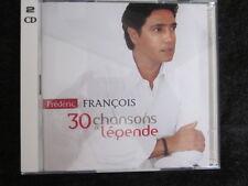 FREDERIC FRANCOIS - 30 chansons de légende (2cd) Very RARE!