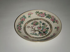 """CROWN CLARENCE STAFFORDSHIRE 5.50"""" TEA CUP SAUCER INDIAN TREE DESIGN PINK ROSES"""