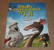 DOSSIER PRESSE CINEMA 2007 VILAIN PETIT CANARD & MOI animation voix Solo Pokora