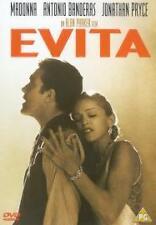 EVITA DVD MADONNA ANTONIO BANDERAS JIMMY NAIL JONATHAN PRYCE
