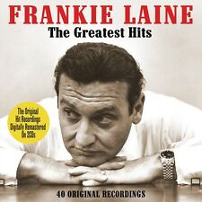 Frankie Laine GREATEST HITS Best Of 40 Original Recordings ESSENTIAL New 2 CD