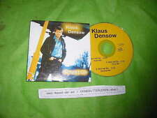 CD Schlager Klaus Densow - Nur mit Dir (3 Song) LALA REC