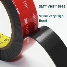 3M™ VHB™ 5952 Black Double Sided Acrylic Foam Adhesive Heavy Duty Mounting Tape