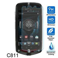 9H Tempered Glass Screen Protector for Verizon Casio G'zOne C811 Commando 4G LTE