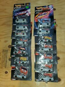 Lot of 14 Hot Wheels Pro Racing TEST TRACK Edition Nascar 1:64 scale Die Cast