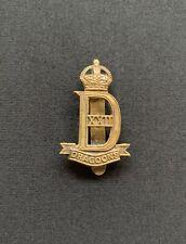 22nd Dragoons Cap Badge