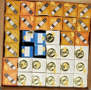 Lot of 36 6V6 NOS and new Power vacuum tubes TAD, MULLARD, RCA, JJ NO RESERVE