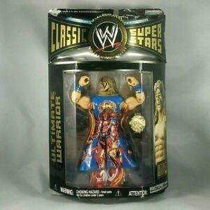 Jakks WWE Classic Superstars 12 Ultimate Warrior Variation Mint on Card MOC
