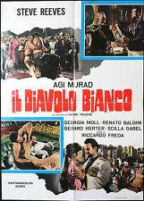 CINEMA-soggettone AGI MURAD DIAVOLO BIANCO reeves,FREDA