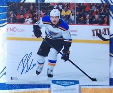 Brayden Schenn autographed 8 x 10 St. Louis Blues photo - Beckett Authenticated