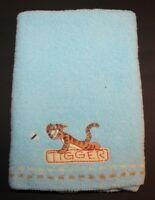 Disney Tigger Baby Blanket Blue Crown Crafts Dragonfly Chenille Winnie the Pooh