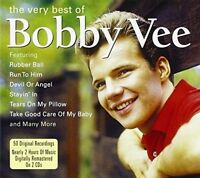 BOBBY VEE CD     THE VERY BEST OF      NEW AND SEALED     50 ORIGINAL RECORDINGS