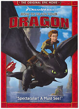 HOW TO TRAIN YOUR DRAGON (DVD, 2012, Special Edition) NEW