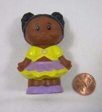 Fisher Price Little People AFRICAN AMERICAN GIRL TESSA Beach Swim Swimmer