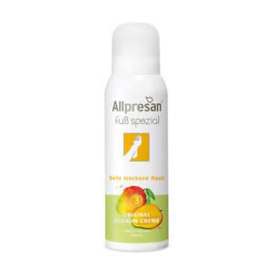 Allpresan Fuß spezial 3 Original Schaum-Creme Sehr trockene Haut Mango 125ml