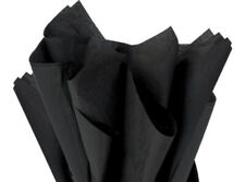 """Black Color Tissue Paper, 15x20"""" 50 or 100 sheets"""