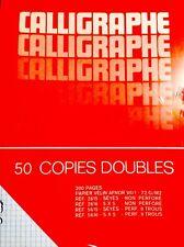 4 paquets de copies double soit 800 pages format A4 pour classeurs