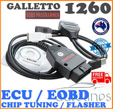 GALLETTO 1260 OBD2 EOBD ECU Chip Tuning Scanner Remap Flasher Programmer Tool