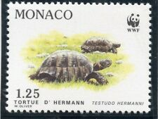 STAMP / TIMBRE DE MONACO N° 1805 ** FAUNE / LA TORTUE D'HERMANN