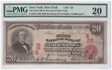 $20 1902 Red Seal FR#639 New York CH#29 PMG 20