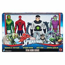 Marvel Spiderman Titan Hero Versus Villians Series Four 12 Inch Figures NEW