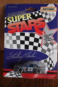 1992 Match Box 1/64 Sterling Marlin #22 Maxwell House Ford Thunderbird