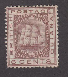 British Guiana 1876-79 Mint MH Definitive Queen Victoria Sailing Ships CC SG129