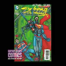 CYBORG SUPERMAN #23.1 Action Comics 3D Cover VILLAINS Month 1st Print NM/NM+