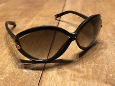 5640bd4b7d41f LOUIS VUITTON Brown Plastic Frame Daphne Sunglasses-Z0415W