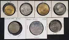 Lot of 7x Various Canadian Trade Dollars & Commemorative Tokens