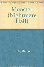 USED (GD) Monster (Nightmare Hall) by Diane Hoh