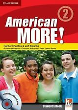 American More! Level 2 Student's Book with CD-ROM by Herbert Puchta (2010,...