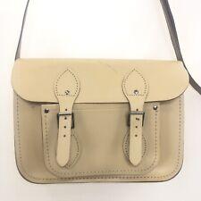THE CAMBRIDGE SATCHEL COMPANY Crossbody Shoulder Bag Cream Leather