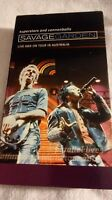 Rare Savage Garden VHS Superstars and Cannonballs Live and on Tour in Australia