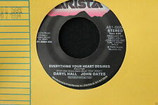 Daryl Hall & John Oates Realove b/w Everything Your Heart Desires 45-rpm Record
