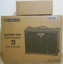 Boss Katana 100 v2 and Cover Nib