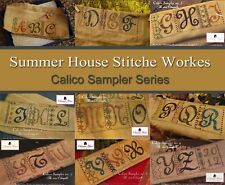 Calico Sampler Series Summer House Stitche Workes Cross Stitch Pattern