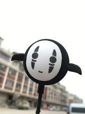 Cute Black No Face man Antenna Balls Car Aerial Ball Antenna Topper Pen Ball New