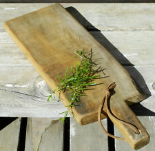 French Cutting Board Solid Oak Country Farmhouse Primitive Kitchen Serving Tray