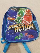 PJ Masks Ready for Action Backpack Bag with Drink Bottle Holder Brand New