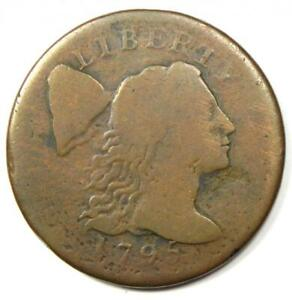 1795 Liberty Cap Large Cent 1C Coin - Fine Details - Rare Coin!