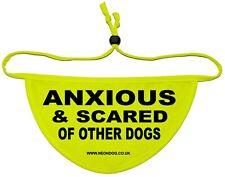 Anxious & Scared of other dogs NeonDog dog Bandana 36